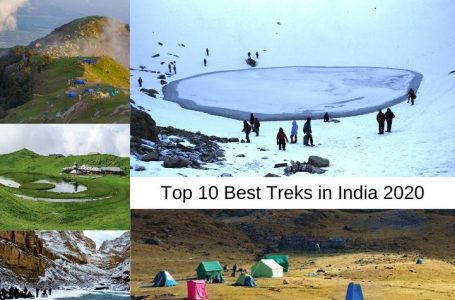 Best Treks In India For The Year 2020