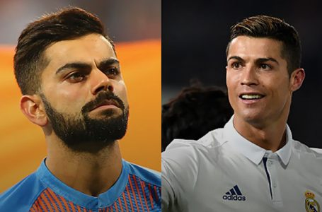 Ronaldo Earns The Most Of Any Athlete On Twitter For Posting A Tweet, Virat Kohli Makes The List As Well
