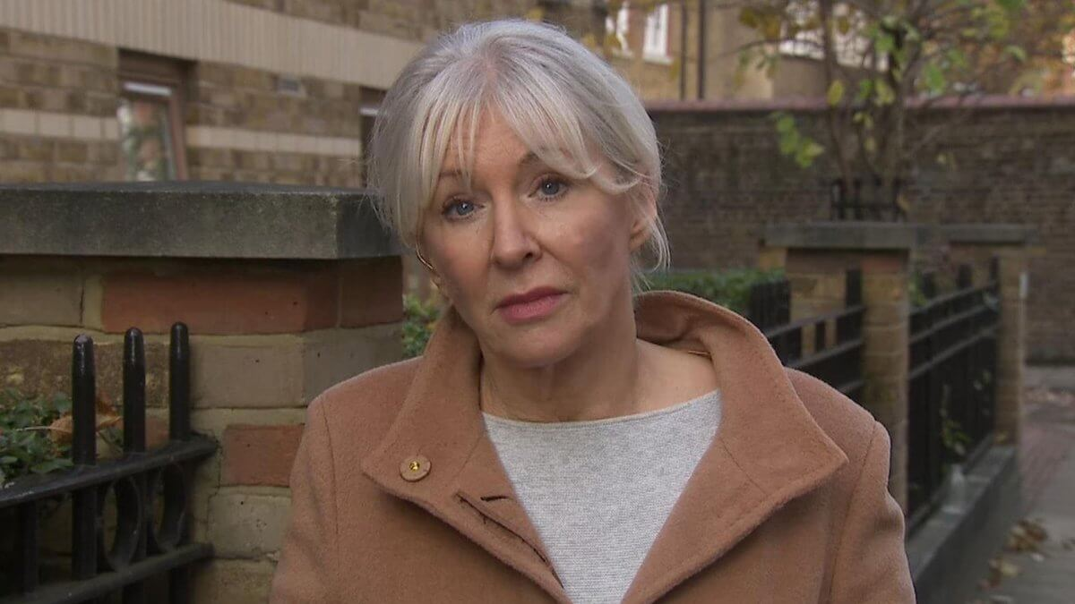 Coronavirus UK's MP Nadine Dorries Tests Positive For COVID-19