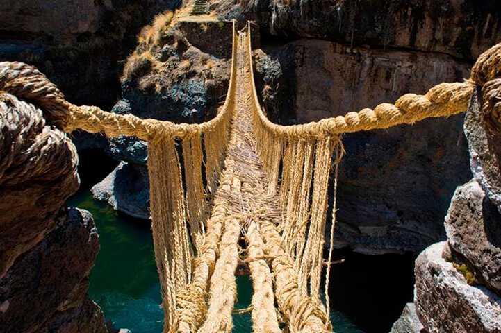 Q'eswachaka Bridge, Peru