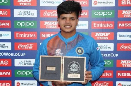 Shafali Verma Becomes The Youngest Indian To Be Ranked 1 On Any ICC Player Rankings Table