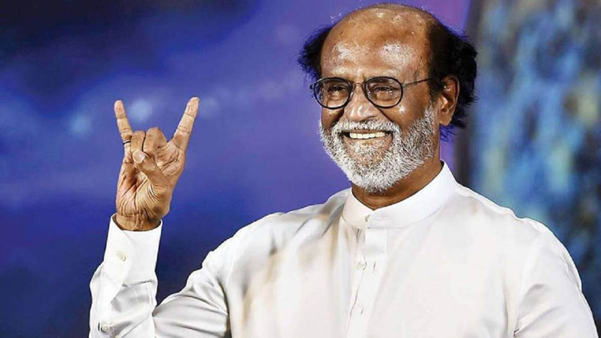 "After Getting ""Warning from God,"" Rajinikanth Cancels Political Plans"