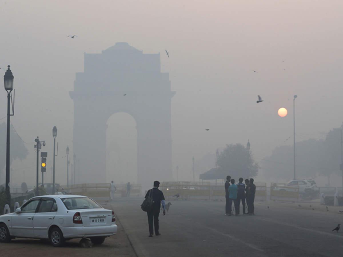 Delhi's Air Quality Deteriorates To Severe Category