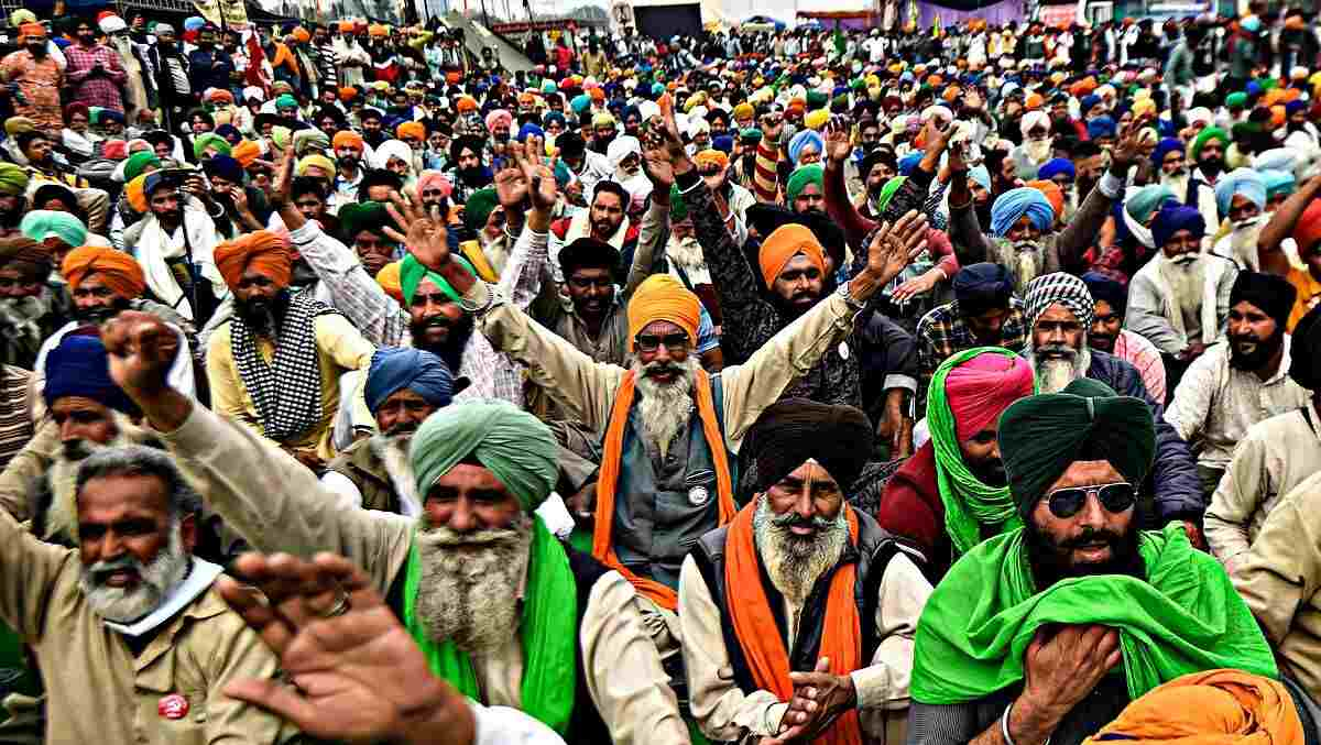 Farmers' Nationwide Hunger Strike Begins Today, Protest Intensifies