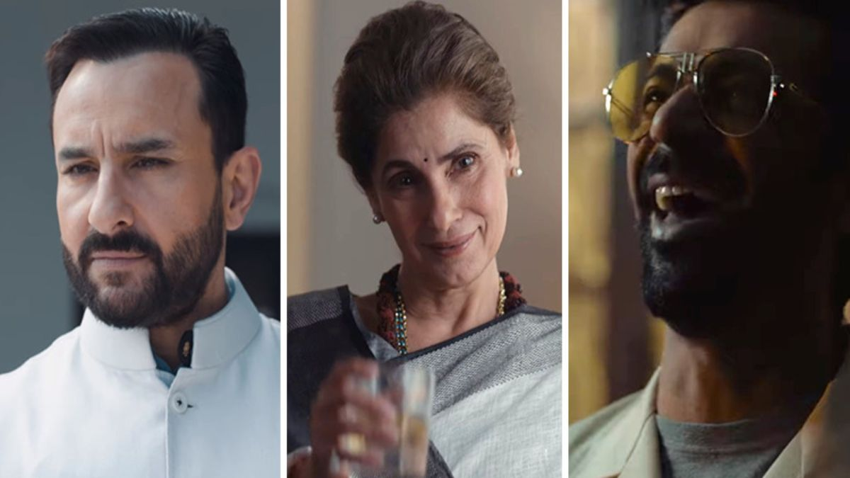 Teaser Of Saif Ali Khan And Dimple Kapadia Starrer Nail-Biting Series Released