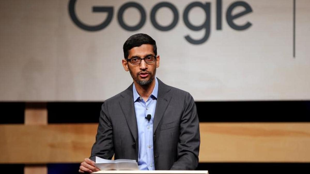 """""""Lawlessness And Violence"""" At US Capitol """"antithesis Of Democracy,"""" Says CEO Of Google"""