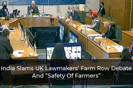 "India Slams UK Lawmakers' Farm Row Debate And ""Safety Of Farmers"""