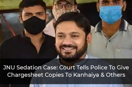 JNU Sedition Case: Court Tells Police To Give Chargesheet Copies To Kanhaiya & Others