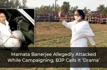 Mamata Banerjee Allegedly Attacked While Campaigning, BJP Calls It 'Drama'