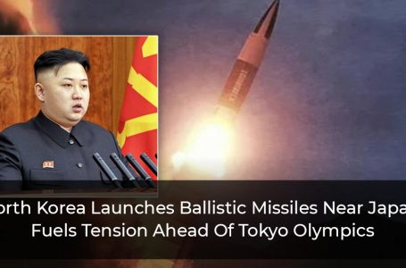 North Korea Launches Ballistic Missiles Near Japan, Fuels Tension Ahead Of Tokyo Olympics