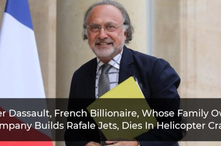 Olivier Dassault, French Billionaire, Whose Family Owned Company Builds Rafale Jets, Dies In Helicopter Crash