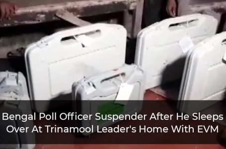 Bengal Poll Officer Suspender After He Sleeps Over At Trinamool Leader's Home With EVM