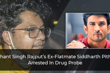 Sushant-Singh-Rajput's-Ex-Flatmate-Siddharth-Pithani-Arrested-In-Drug-Probe