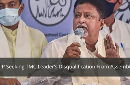 West Bengal: BJP Seeks Mukul Roy's Disqualification From Assembly