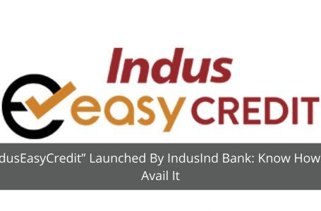 """""""IndusEasyCredit"""" Launched By IndusInd Bank: Know How To Avail It"""