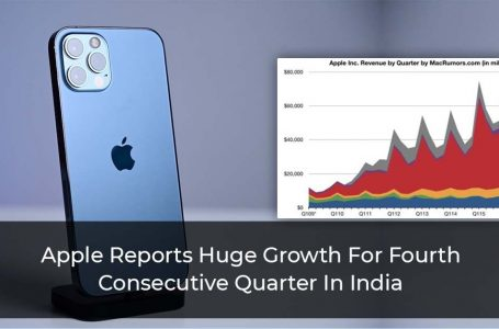 Apple Reports Huge Growth For Fourth Consecutive Quarter In India