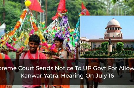 SC Issues Notice To Yogi Govt For Allowing Kanwar Yatra In UP