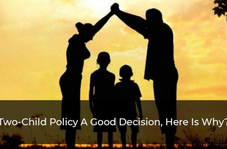 Why The Two-Child Policy Is The Step In A Right Direction