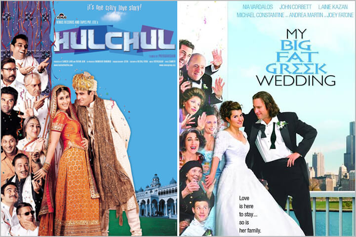 Hulchul/ My Big Fat Greek Wedding-Copied Bollywood Movie Posters