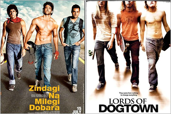 Zindagi Na Milegi Dobara / Lords Of Dog Town-Copied Bollywood Movie Posters