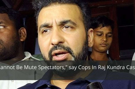 """Cannot Be Mute Spectators,"""" say Cops In Raj Kundra Case"""