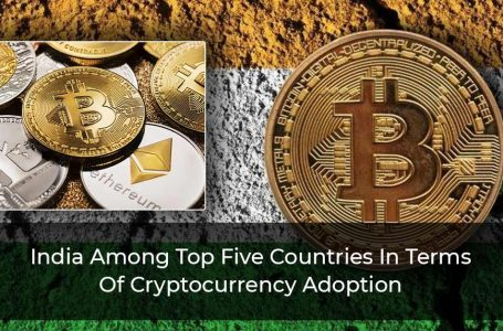 India Among Top Five Countries In Terms Of Cryptocurrency Adoption