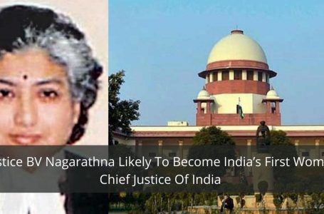 Justice BV Nagarathna Likely To Become India's First Woman Chief Justice Of India