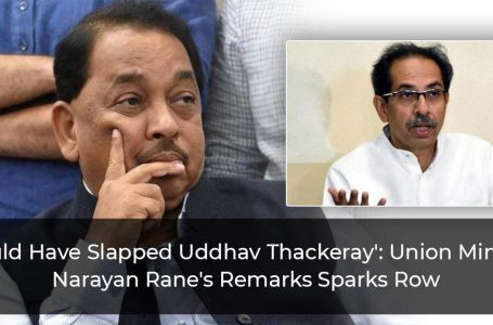 'Would Have Slapped Uddhav Thackeray': Union Minister Narayan Rane's Remarks Sparks Row
