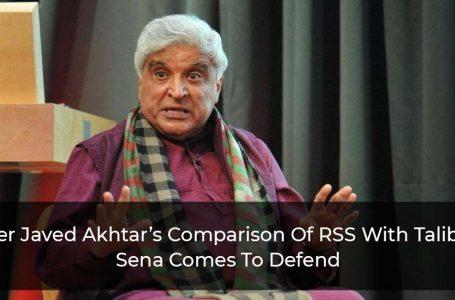 Shiv Sena Defends BJP's Ideological Mentor RSS After Javed Akhtar's Shrewd Comparison