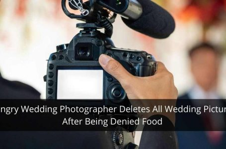 After Being Denied Food At A Wedding, A Hungry Photographer Deletes All Pictures In Front Of The Groom