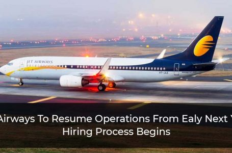 Jet Airways To Take Flight Again From Early 2022, Company Starts Hiring Process