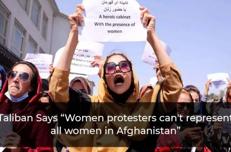 """Taliban Says """"Woman Cannot Be A Minister… They Should Give Birth"""""""