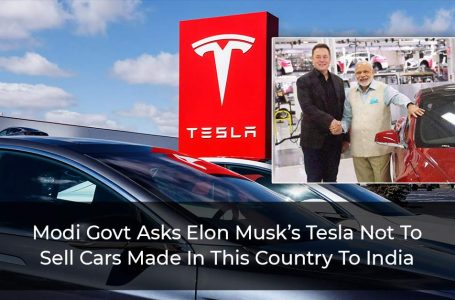 Elon Musk Asked Not To Sell Made In China Cars In India By Modi Government